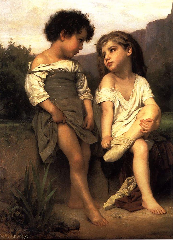 Les Jeunes Baigneuses | William Bouguereau | oil painting