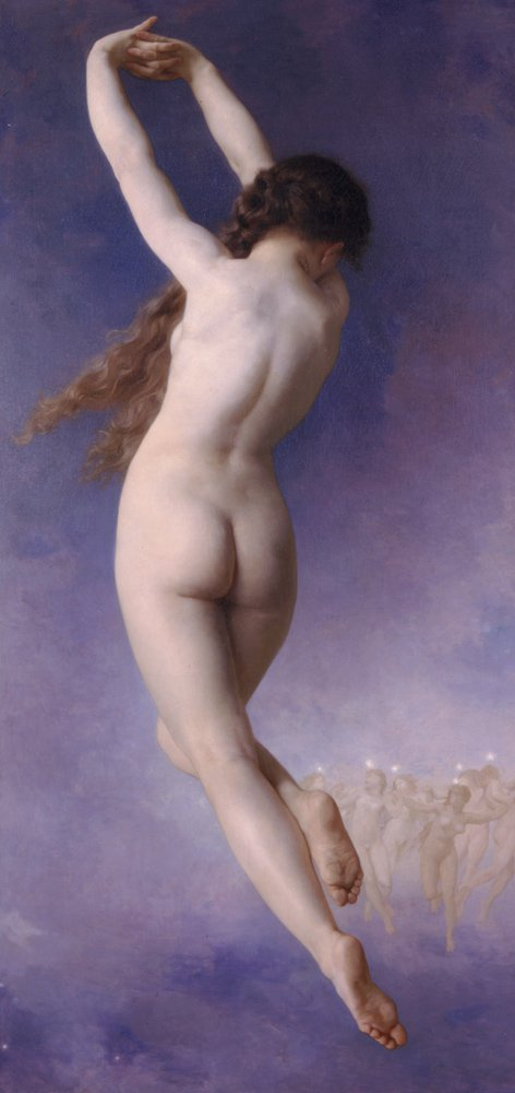 Letoile Perdue | William Bouguereau | oil painting