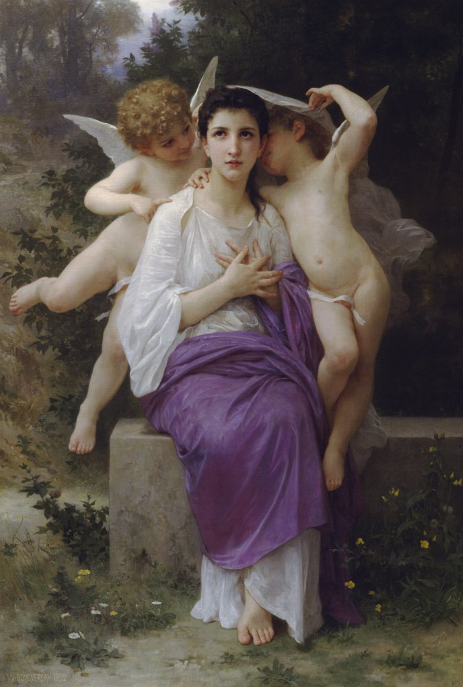 Leveil Du Coeur | William Bouguereau | oil painting