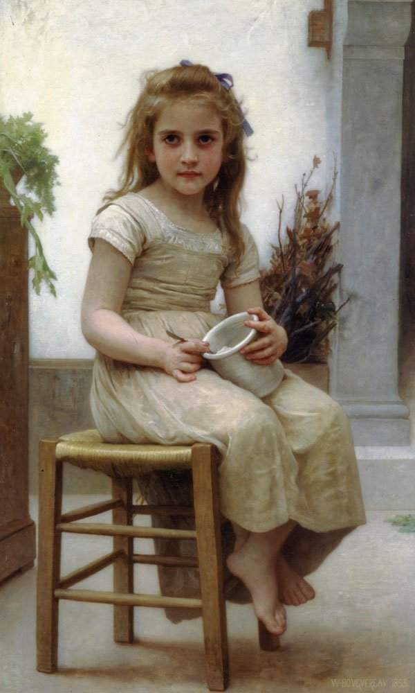 Le Gouter | William Bouguereau | oil painting