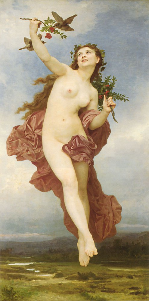 Le Jour | William Bouguereau | oil painting