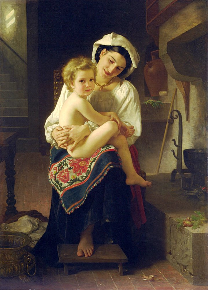 Le Lever | William Bouguereau | oil painting