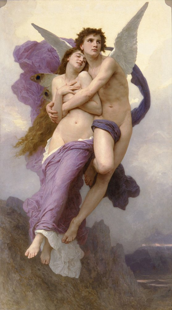 Le Ravissement De Psyche | William Bouguereau | oil painting