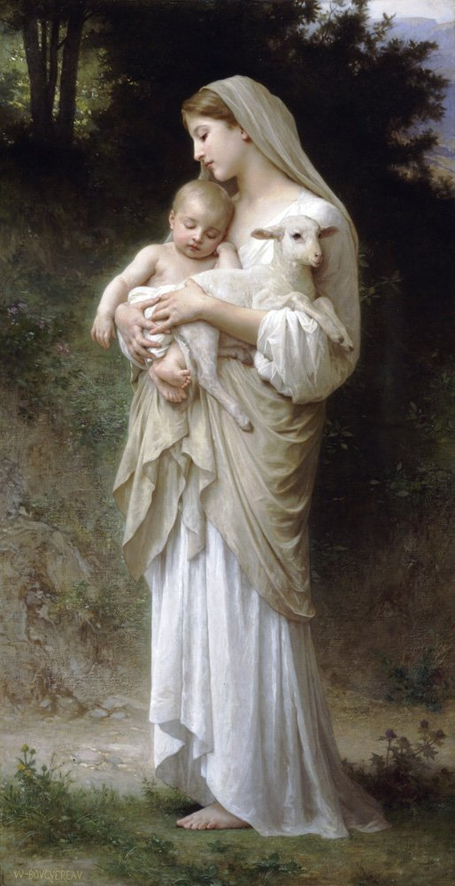 Linnocence | William Bouguereau | oil painting