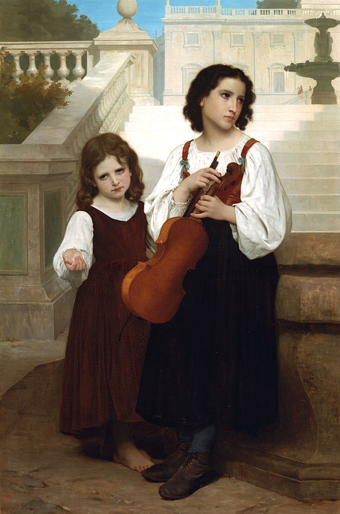 Loin Du Pays | William Bouguereau | oil painting