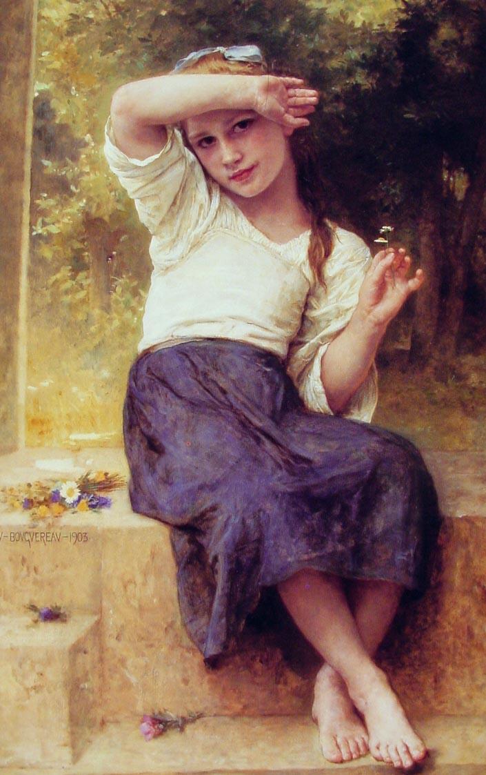 Marguerite   William Bouguereau   oil painting