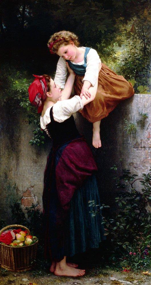 Petites Maraudeuses   William Bouguereau   oil painting
