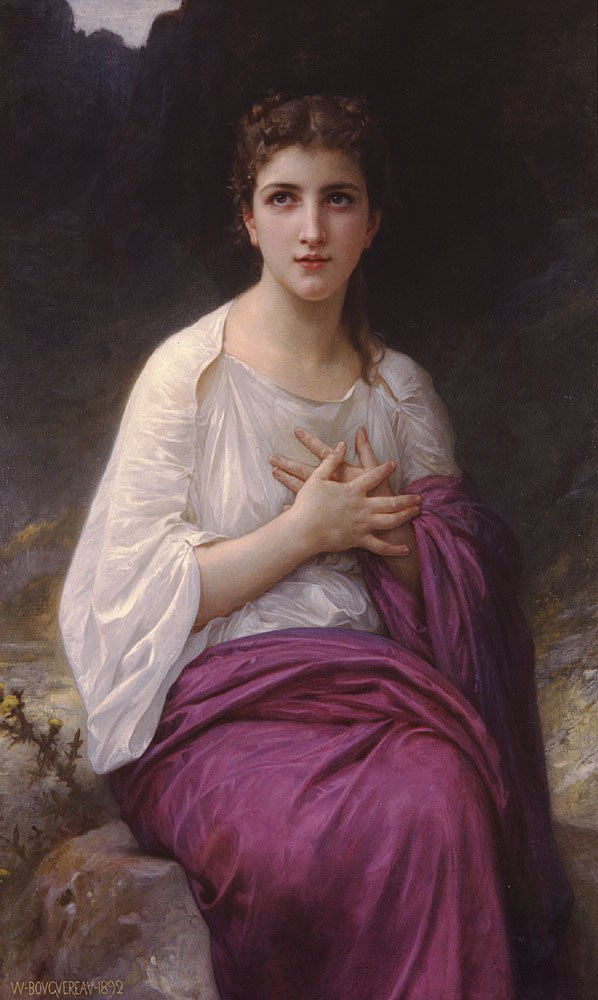 Psyche | William Bouguereau | oil painting