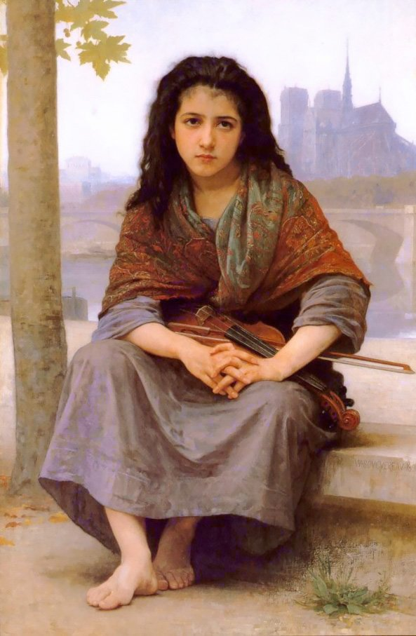 The Bohemian | William Bouguereau | oil painting