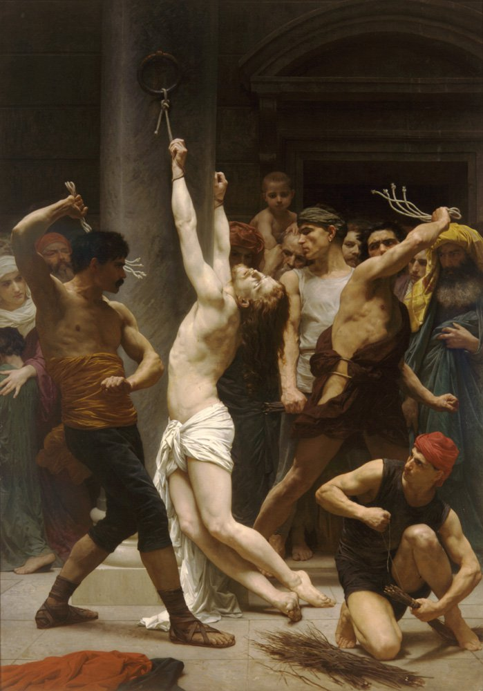 The Flagellation Of Christ | William Bouguereau | oil painting