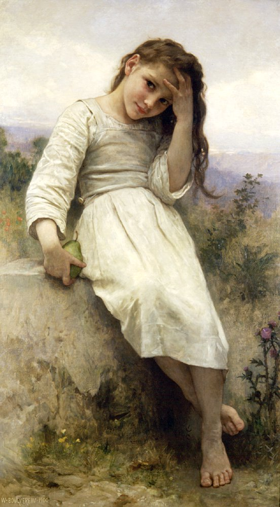 The Little Marauder 1900 | William Bouguereau | oil painting