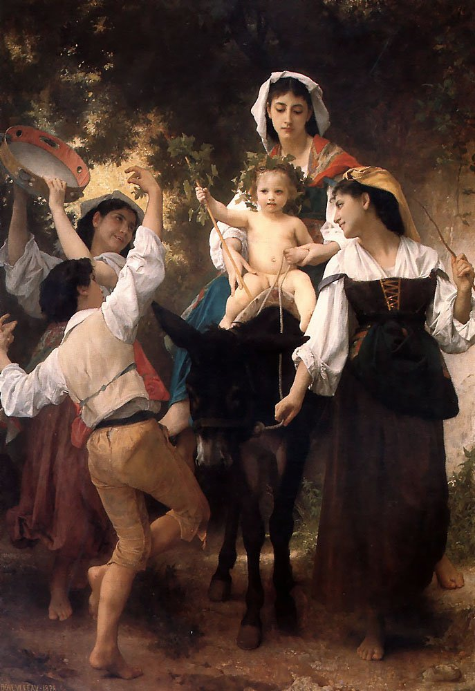 The Return From The Harvest | William Bouguereau | oil painting