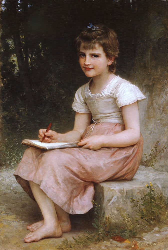 Une Vocation 1896 | William Bouguereau | oil painting