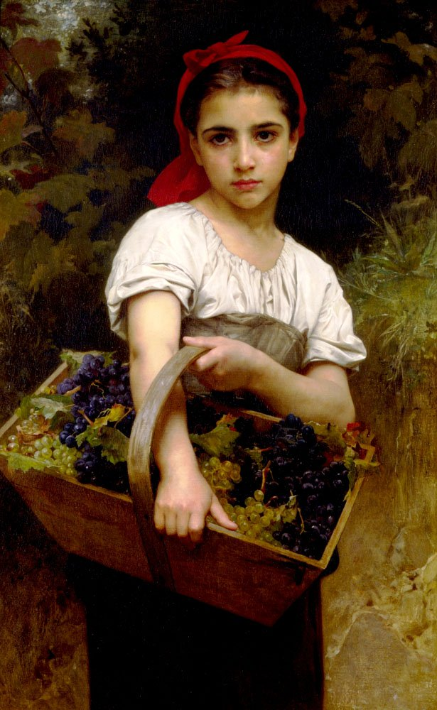 Vendangeuse | William Bouguereau | oil painting