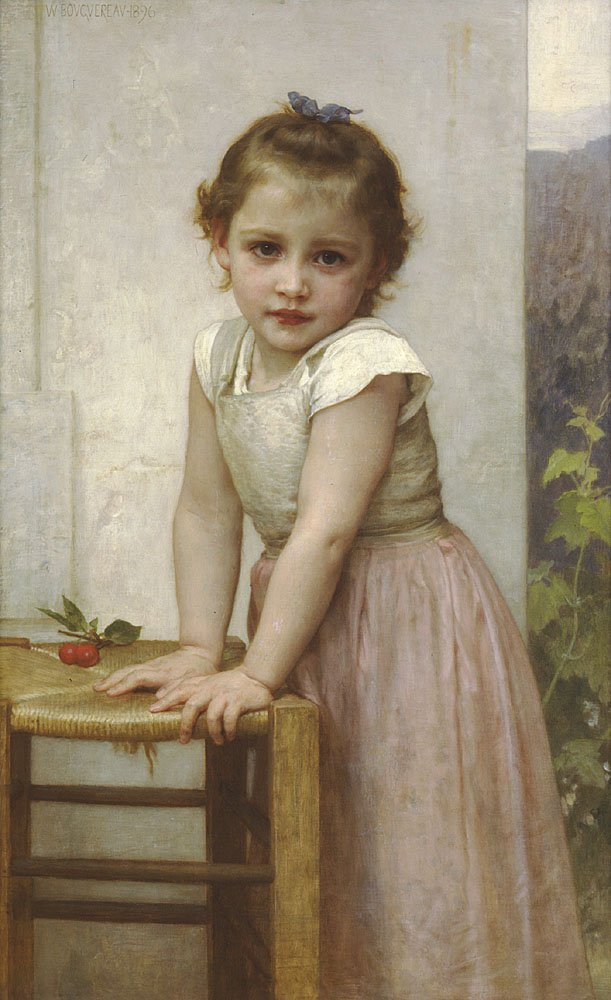 Yvonne | William Bouguereau | oil painting