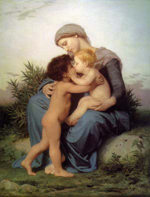 Fraternal Love | William Bouguereau | oil painting