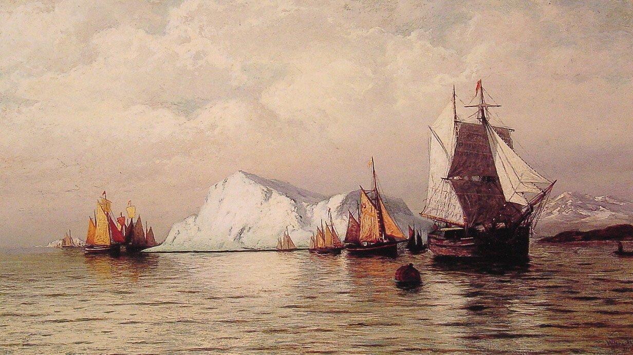 Artic Caravan | William Bradford | oil painting