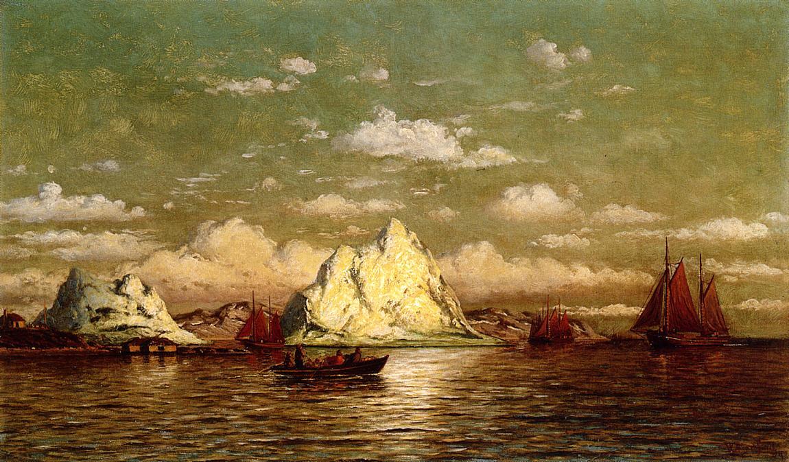 Arctic Harbor | William Bradford | oil painting
