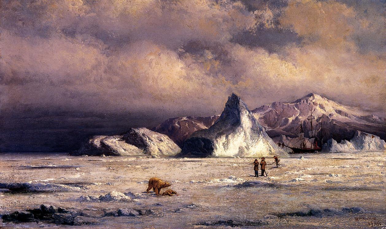 Arctic Invaders  1882 | William Bradford | oil painting