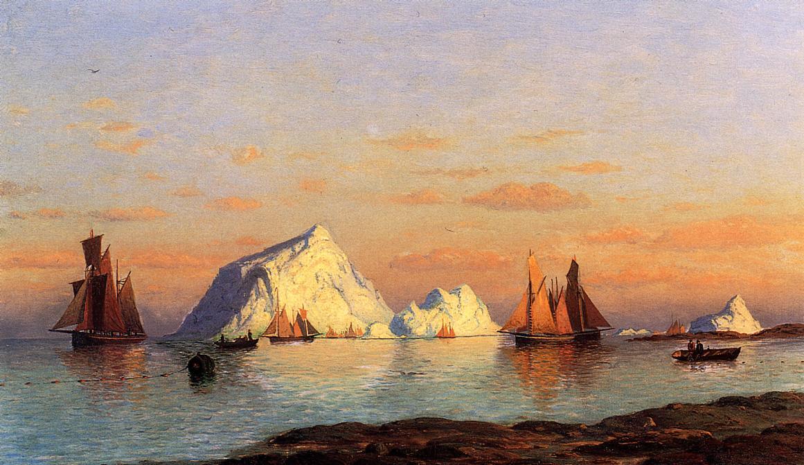 Fishermen off the Coast of Labrador | William Bradford | oil painting