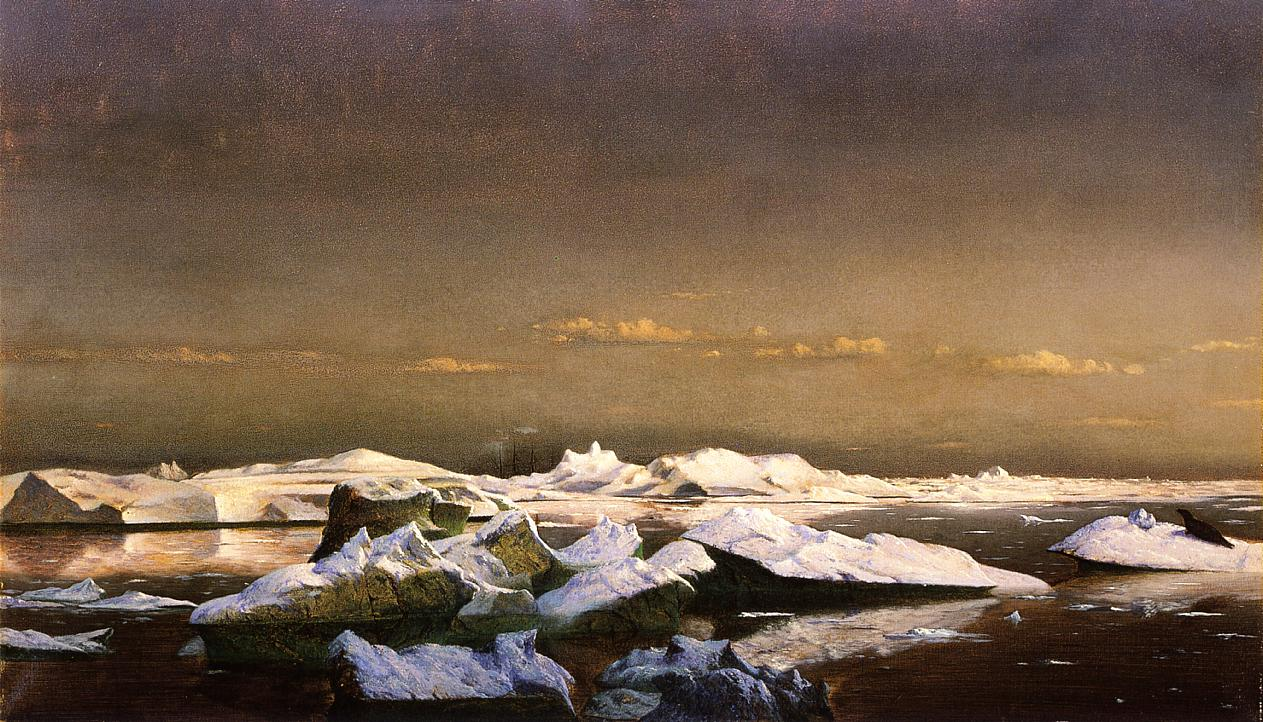 Floe-Ice  1870-1879 | William Bradford | oil painting