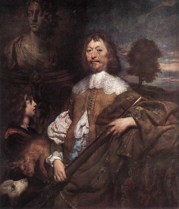 Endymion Porter 1643 | William Dobson | oil painting