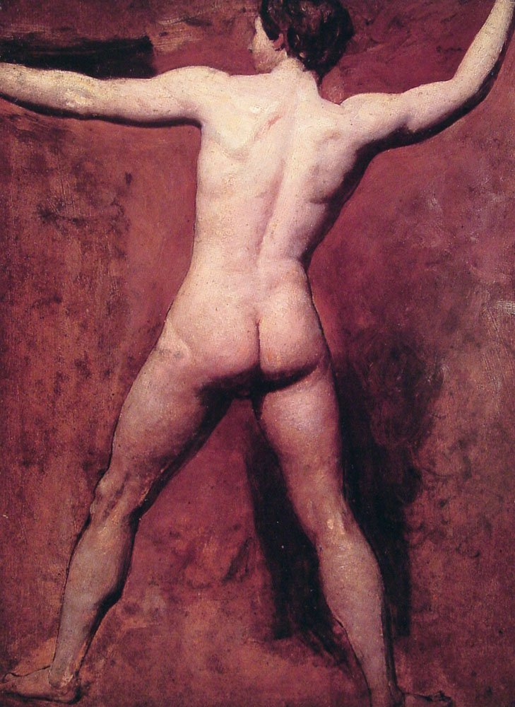 Academic Male Nude | William Etty | oil painting