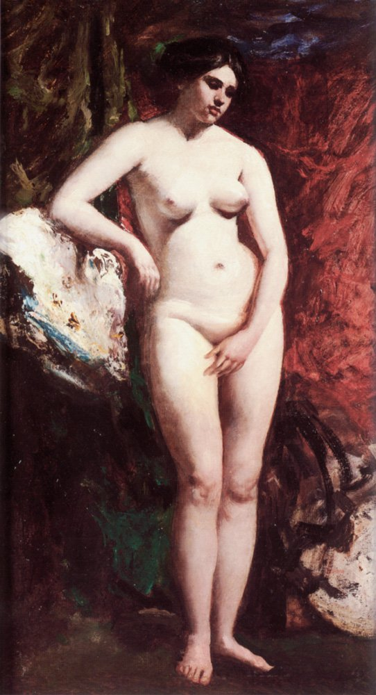 Standing Nude | William Etty | oil painting