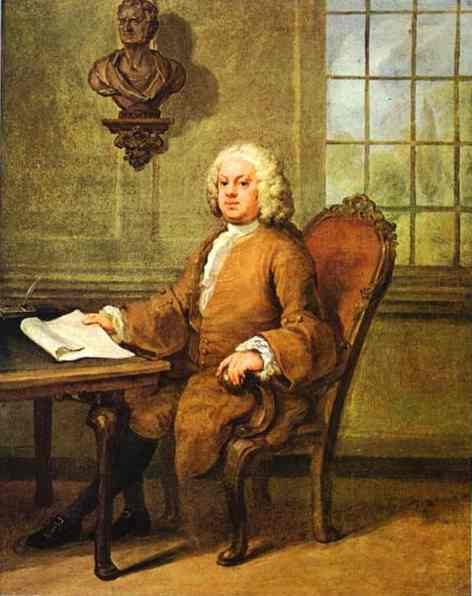 Benjamin Hoadly 1738 | William Hogarth | oil painting