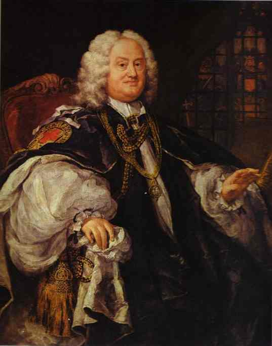 Bishop Benjamin Hoadly 1743 | William Hogarth | oil painting