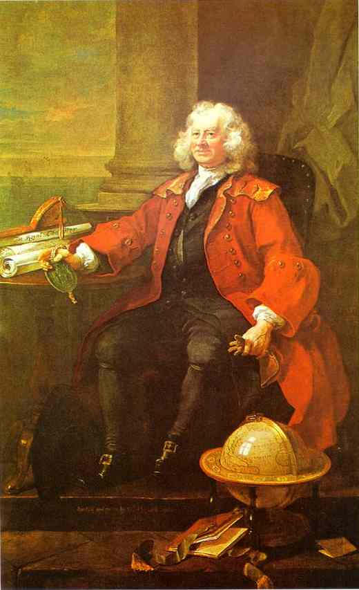 Captain Thomas Coram 1740 | William Hogarth | oil painting