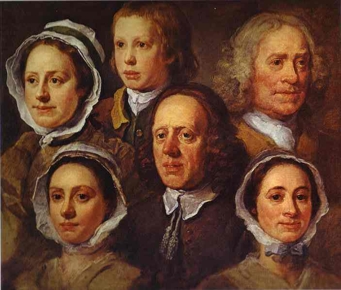 Hogarths Servants 1750 | William Hogarth | oil painting