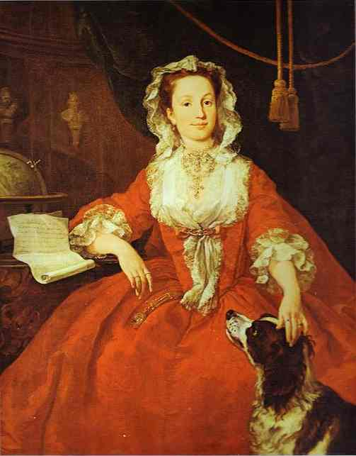 Mary Edwards 1742 | William Hogarth | oil painting