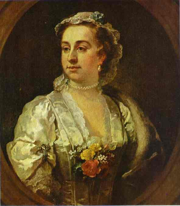 Mrs Catherine Edwards 1739 | William Hogarth | oil painting