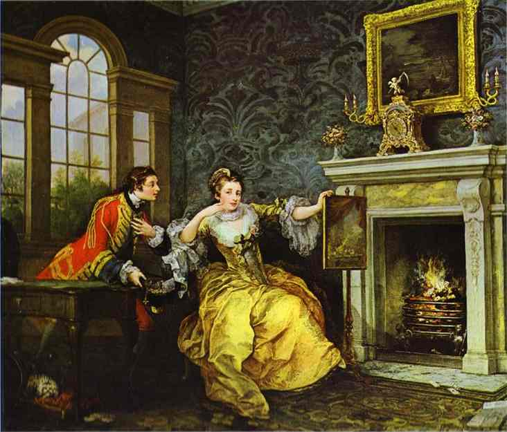 The Ladys Last Stake 1758-1759 | William Hogarth | oil painting