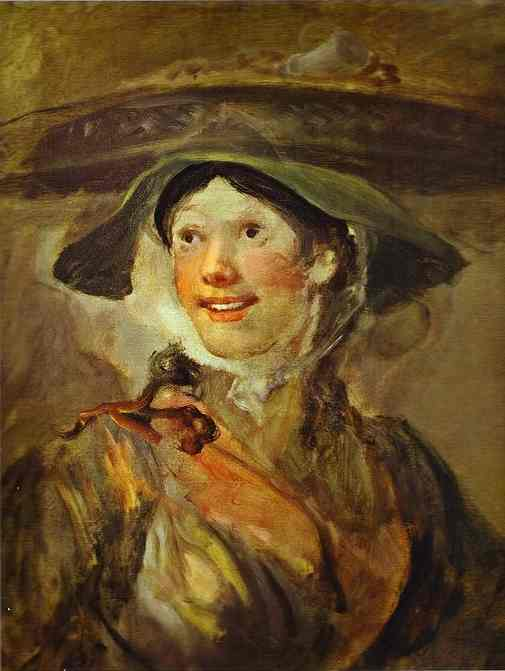 The Shrimp Girl 1740-1743 | William Hogarth | oil painting