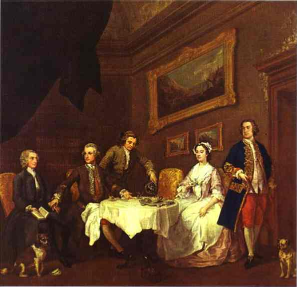 The Strode Family 1738-1742 | William Hogarth | oil painting