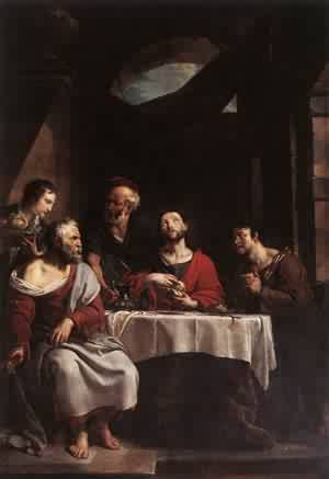 Supper At Emmaus 1808 | William Hogarth | oil painting