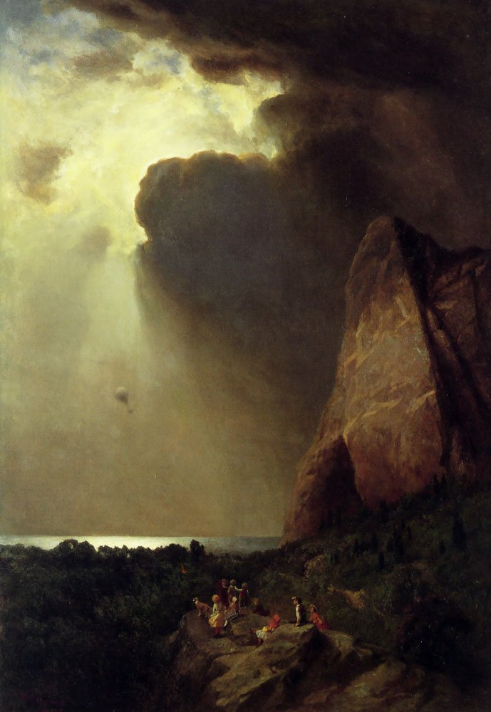 The Lost Balloon | William Holbrook Beard | oil painting