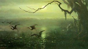 Phantom Crane | William Holbrook Beard | oil painting