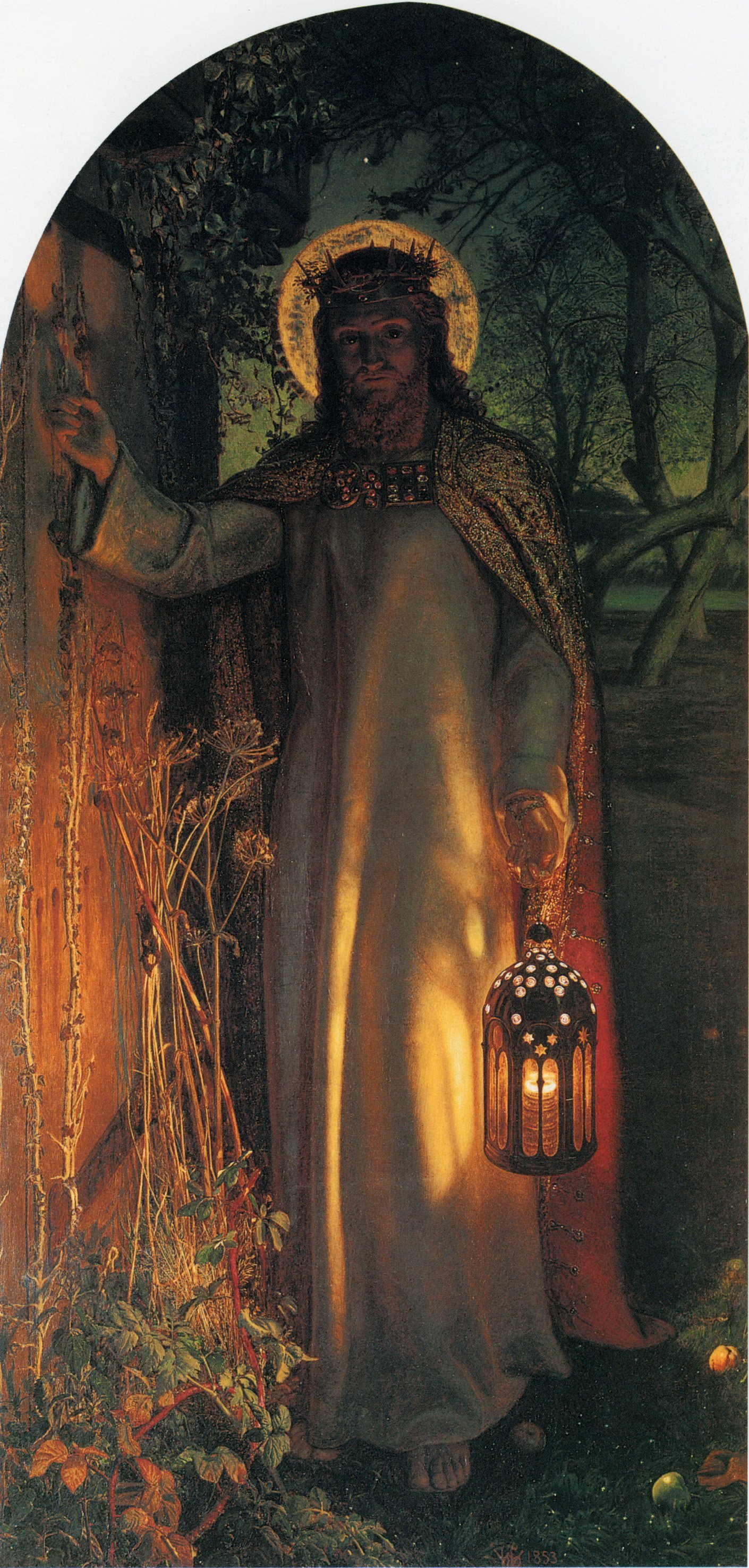 The Light Of The World | William Holman Hunt | oil painting