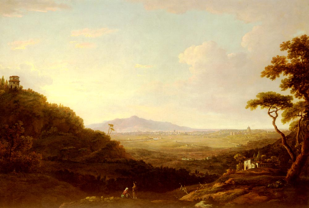 Rome From Monte Mario | William Marlow | oil painting