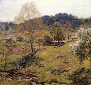 May Pastoral 1907   William Metcalfe   oil painting