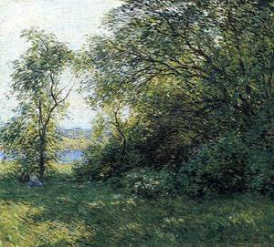 The Bower 1907   William Metcalfe   oil painting