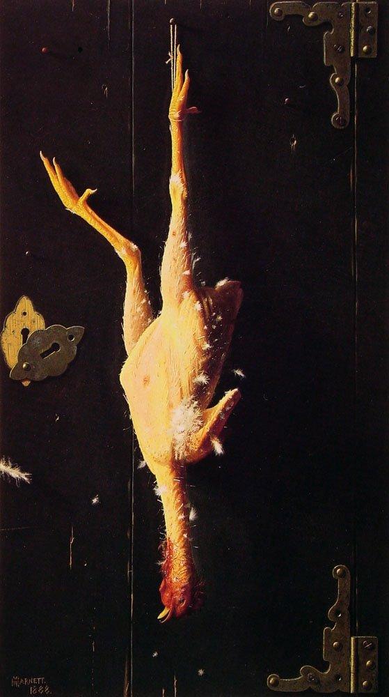 For Sundays Dinner | William M Harnett | oil painting