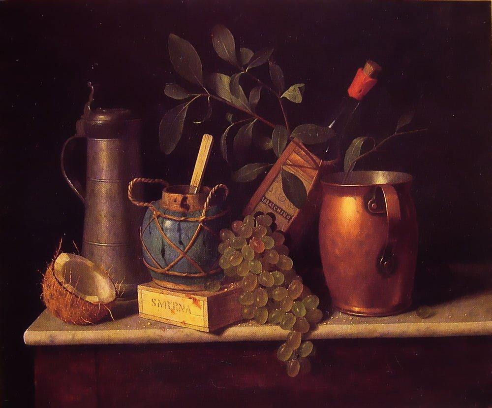 Just Dessert | William M Harnett | oil painting