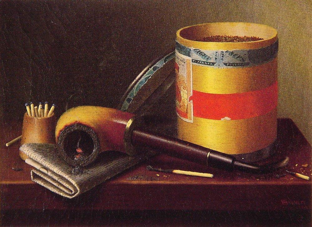 Still Life 1877 | William M Harnett | oil painting