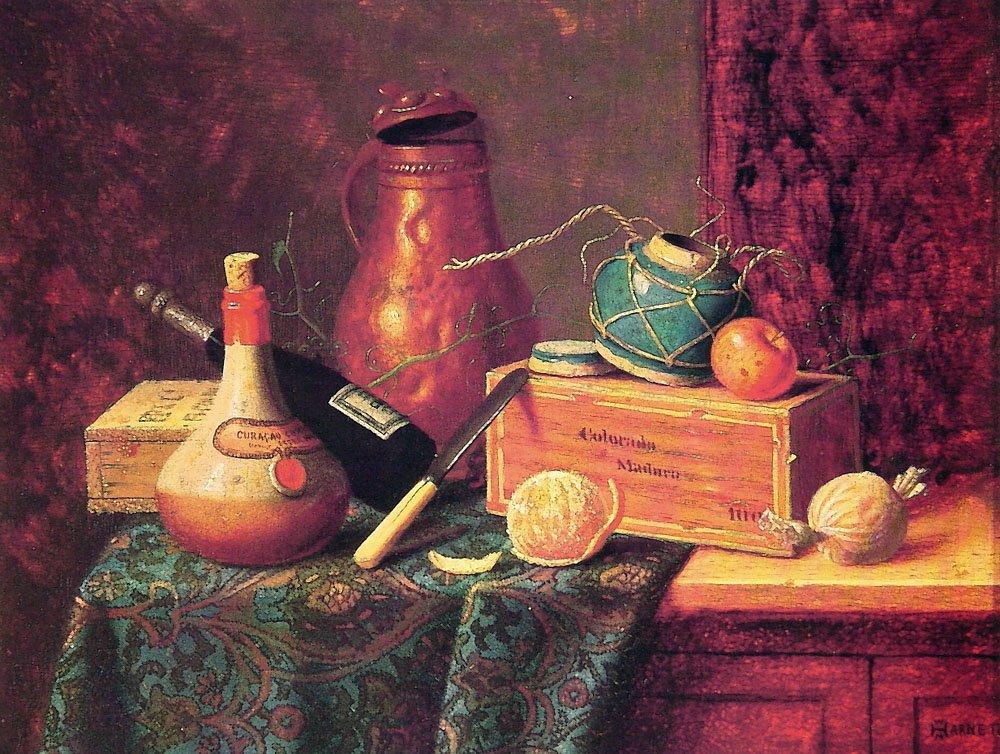 Still Life 1883 | William M Harnett | oil painting