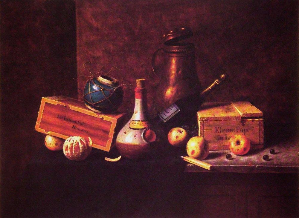 Still Life 1884 | William M Harnett | oil painting