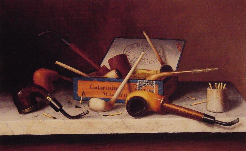 The Social Club   William M Harnett   oil painting